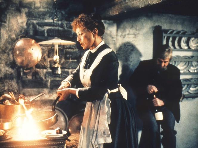 Stéphane Audran dans«Le Festin de Babette», de Gabriel Axel.