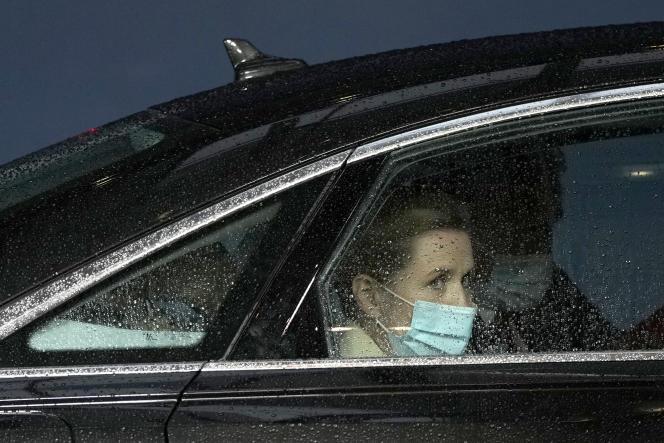 Perdana Menteri Denmark Mette Frederiksen pada 24 Mei di Brussel.  Jerman dan Prancis memanggilnya pada hari Senin, 31 Mei, untuk menjelaskan tuduhan spionase yang dipublikasikan oleh pers.