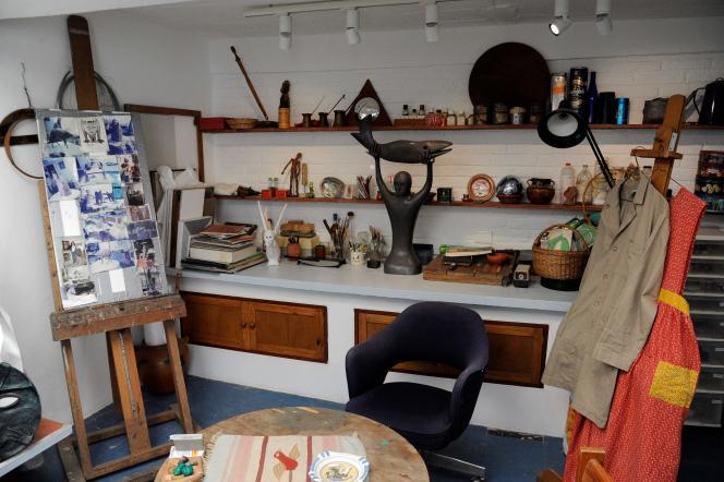 Leonora Carrington a vécu pendant plus de soixante ans dans cette maison.