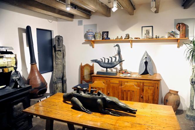 L'intérieur de la maison et de l'atelier de l'artiste britannico-mexicaine Leonora Carrington à Mexico, le 24mai 2021.