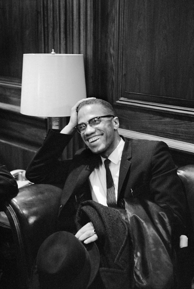Malcolm X, en mars 1964.