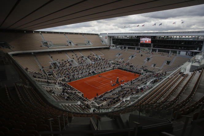 During the last edition of the Roland-Garros tournament, October 10, 2020.