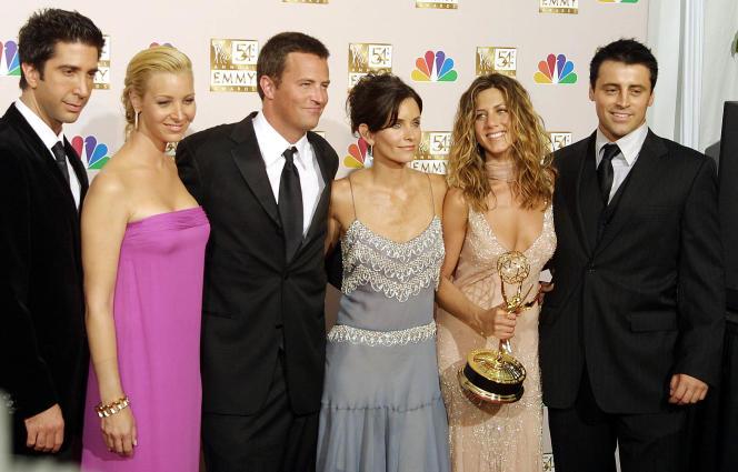 Le casting de« Friends» le 22 septembre 2002 àLos Angeles.