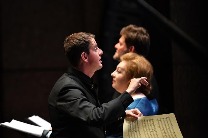 Philippe Jaroussy dirige « Il Primo Omicidio», d'Alessandro Scarlatti.