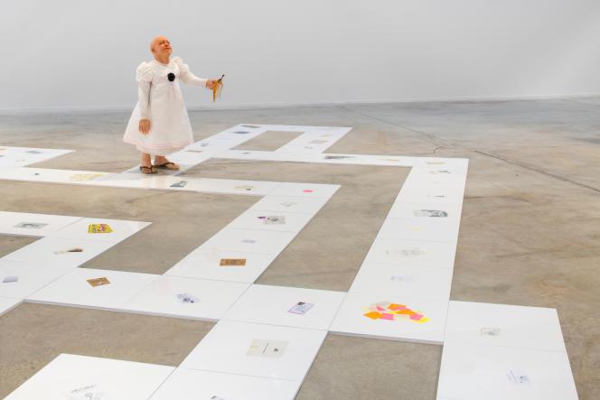 « Jeu de la vie», 2021, et « L'Inconséquence des gestes», 2006 – Collection Antoine de Galbert – GILLES BARBIER– «TRAVAILLER LE DIMANCHE». HAB GALERIE – VOYAGE À NANTES.