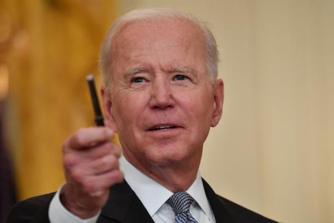 Joe Biden, le 17 mai 2021, à Washington.
