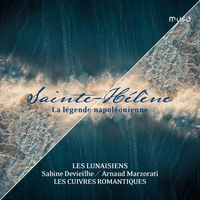 Pochette de l'album «Sainte-Hélène. La Légende napoléonienne».