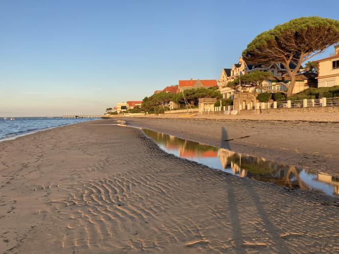 Villas en bord de plage, Arcachon