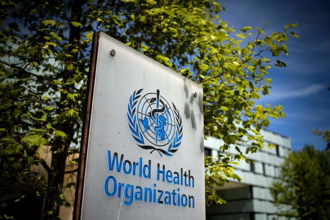 Le siège de l'Organisation mondiale de la santé (OMS) à Genève, le 8 mai 2021.