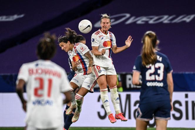 Le PSG féminin avait signé un match nul (0-0) contre l'OL féminin, dimanche 30 mai, à Lyon.