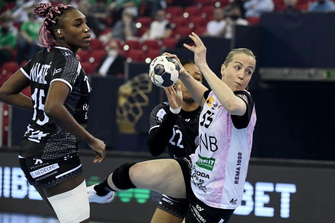 The Brestoises lost 34 to 28 against the Norwegians in the final of the Champions League on Sunday, May 30.