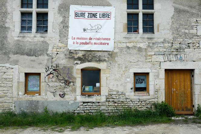 La Maison de la résistance des opposants au site d'enfouissement des déchets nucléaires de Bure (Meuse), le 25 mai 2021.