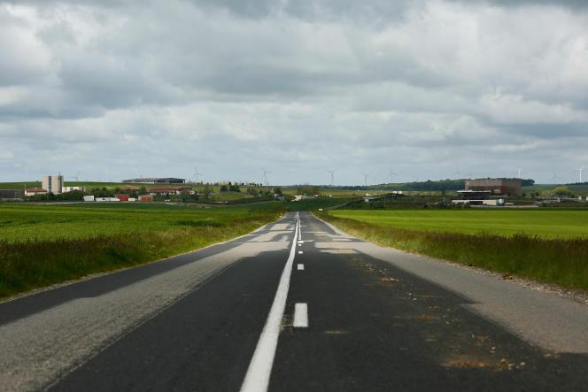 Autour du village de Bure (Muse), le 25 mai 2021.