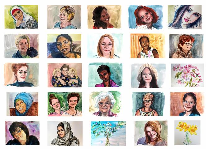 La série «Disappearing Women», d'Henny Beaumont.