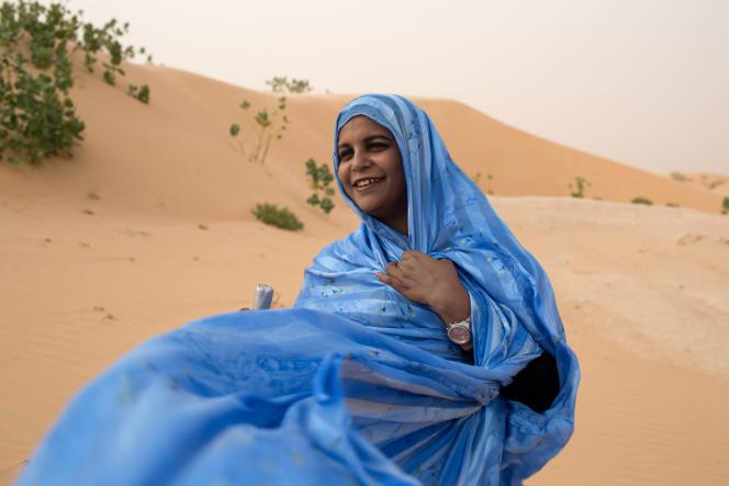 La chanteuse mauritanienne Noura Mint Seymali.