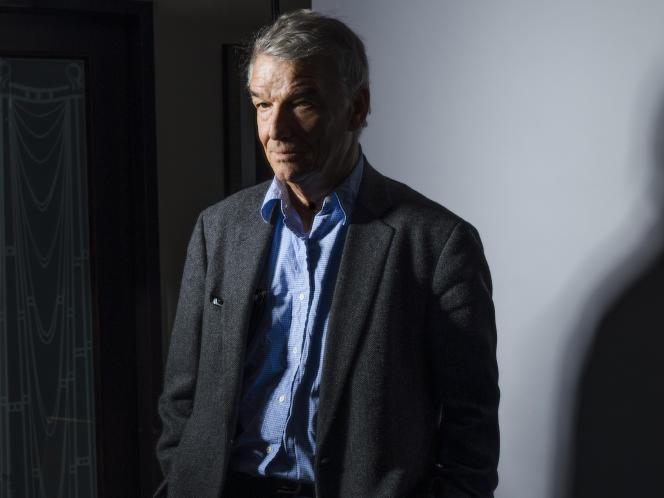 Benoît Jacquot, le 14 janvier 2021, à Paris.
