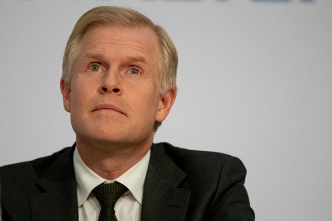 Henrik Enderlein, lors d'une conférence à Berlin, le 2 mars 2020.