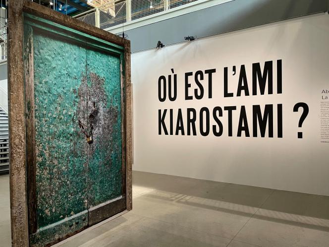 « Où est l'ami Kiarostami ? » a lieu du 19 juin au 26 juillet, au Centre Pompidou à Paris.