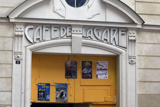 Le Café de la Gare, à Paris, le 21 novembre 2003.