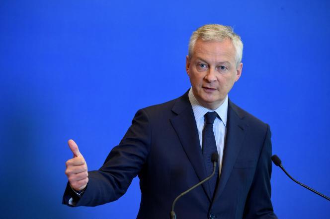 Le ministre français de l'économie, Bruno Le Maire, à Paris, le 1er juin 2021.