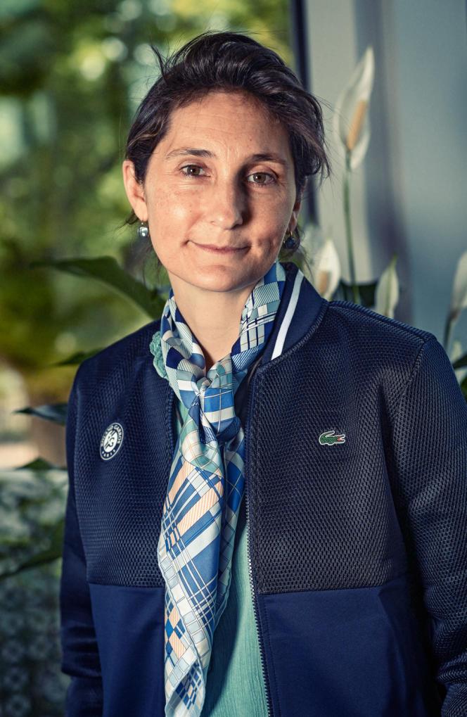 Amélie Oudéa-Castéra.