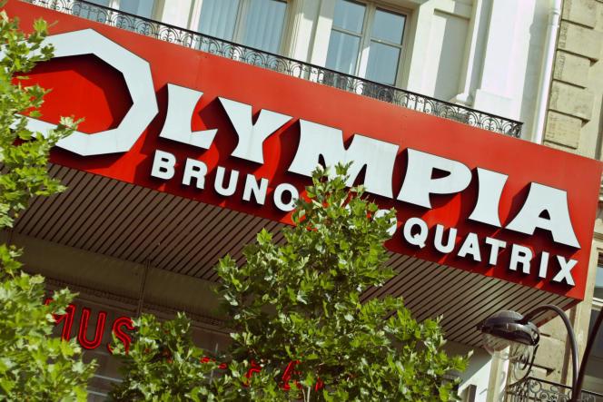 L'Olympia, à Paris, le 11 juillet 2003.