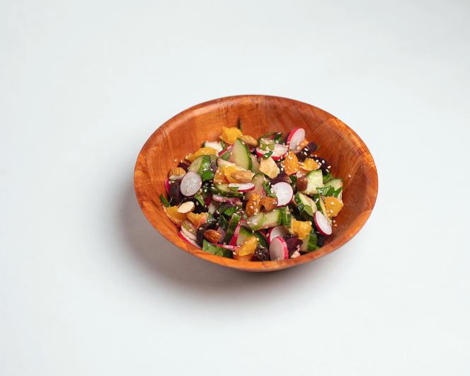 La « salade balade» de Noémie Malaize.