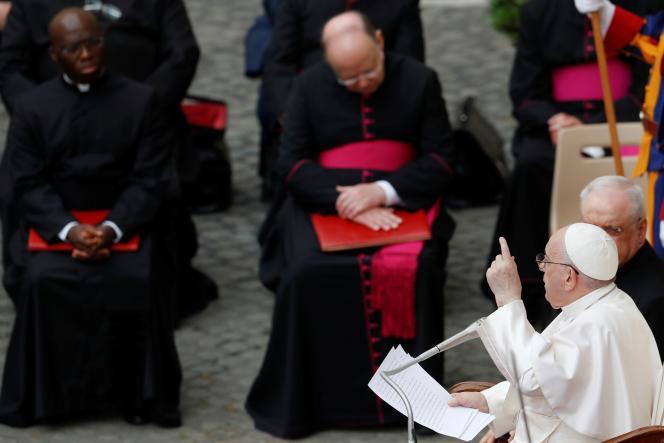 Le pape François, le 2 juin au Vatican.
