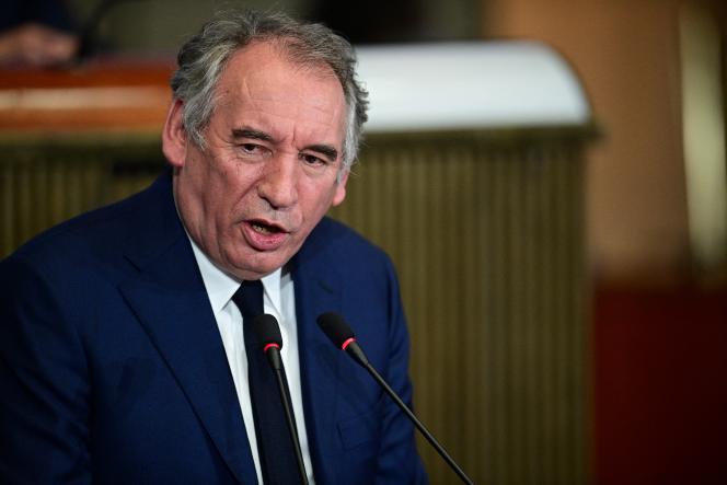 François Bayrou, au Conseil économique, social et environnemental, à Paris, le 22 septembre 2020.