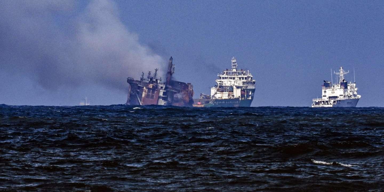 Au large du Sri Lanka, un risque de naufrage imminent pour le porte-conteneurs « X-Press Pearl »