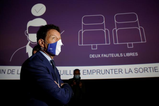 Le président du Medef, Geoffroy Roux de Bézieux, le 18 mai, à Paris.