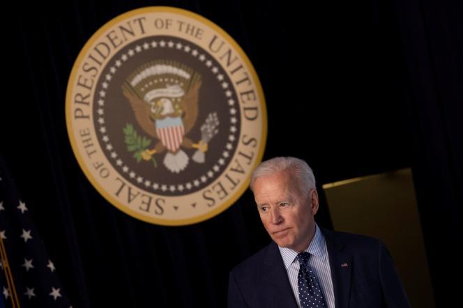 Joe Biden à la Maison Blanche, à Washington, mercredi 2 juin 2021.