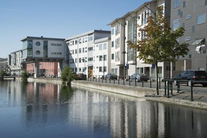 Le quartier résidentiel de Västra Hamnen, à Malmö, le 28 août 2016.