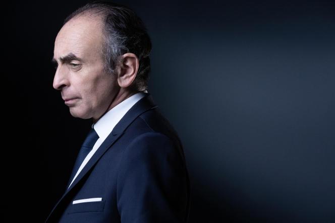 Eric Zemmour, à Paris, le 22 avril 2021.