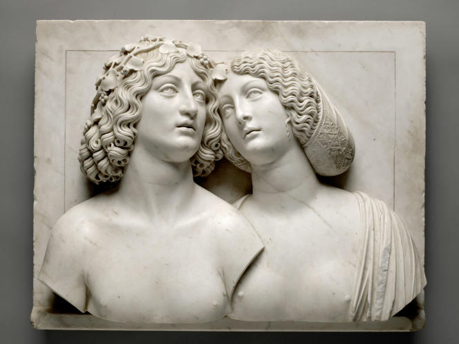 «Bacchus et Ariane» par Tullio Lombardo. Marbre, vers 1505‐1510.