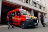 Une ambulance des pompiers, à Arras (Pas-de-Calais), le 3 juin 2021.