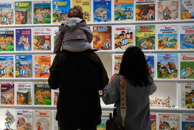 L'exposition sur Uderzo au musée Maillol de Paris, le 26 mai 2021.