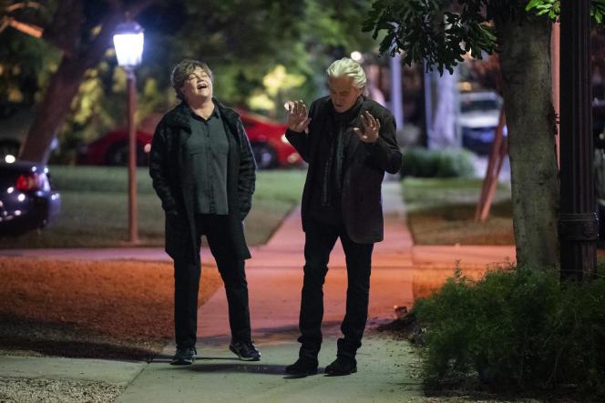 Kathleen Turner et Michael Douglas dans« La Méthode Kominsky», diffusée sur Netflix.