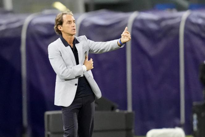 Sous la direction de Roberto Mancini, l'équipe italienne a pratiqué un jeu plutôt emballant lors des éliminatoires de l'Euro.
