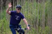 Le président américain Joe Biden dans le parc d'Etat de Cape Henlopen, à Lewes (Delaware) le 3 juin 2021.