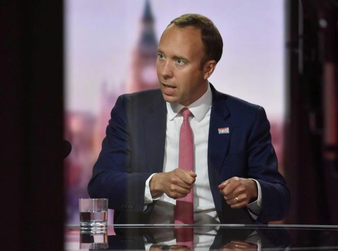 Matt Hancock, le ministre de la santé britannique, le 6 juin 2021.