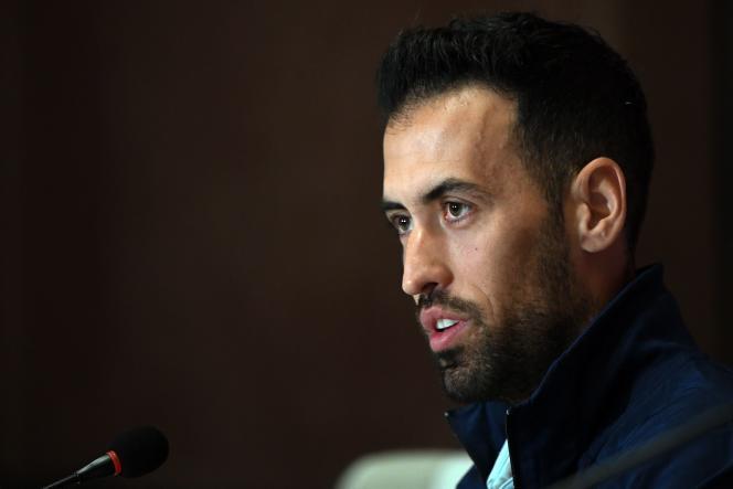 Sergio Busquets, le capitaine de la sélection espagnole, a été testé positif au Covid-19 dimanche 6 juin.