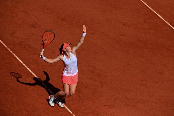 Tamara Zidansek, wysłana przeciwko Sorana Cerstia, zakwalifikowała się do ćwierćfinału na Roland Garros.