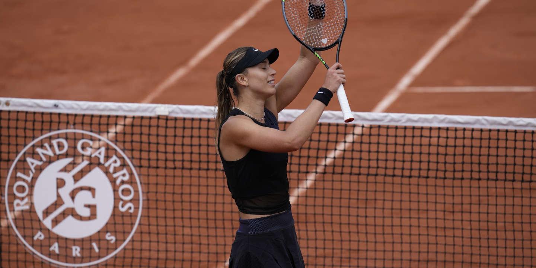 Roland-Garros : l'Espagnole Paula Badosa, un moral tout neuf