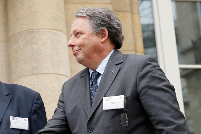 L'ex-président de l'université Descartes, Frédéric Dardel, ici le 21 janvier 2015, à Paris.