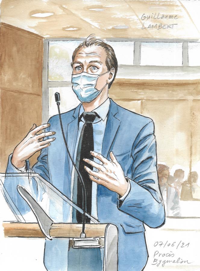 Guillaume Lambert, à la barre, le 7 juin 2021.