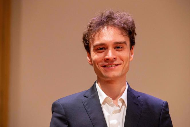 Le pianisteJonathan Fournel, le 29 mai à Bruxelles.