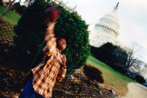 Emmanuel Sanford-Durant à« 17 blocks » du Capitole à Washington.