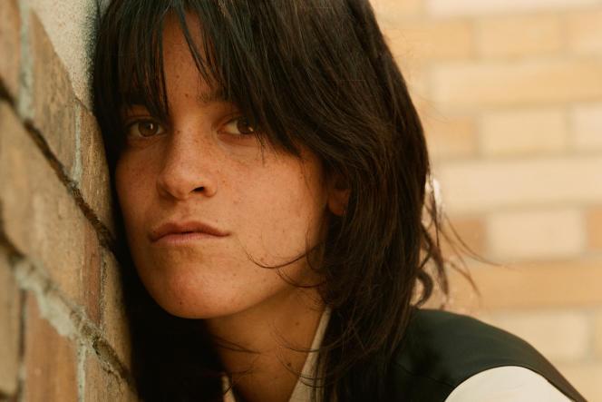 Suzanne Lindon, à Paris, le 21 mai 2021.