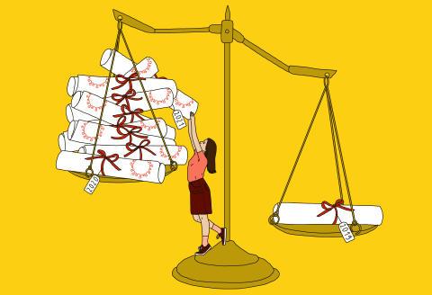 Examens, partiels, soutenances… Ces rites de passage transformés par la crise du Covid Crise sanitaire et confinements ont bousculé les modes d'évaluation des étudiants, faisant craindre chez certains jeunes une dévalorisation de leur diplôme.